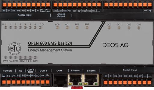 Open 600 Ems Basic24 Deos Controls Americas Inc