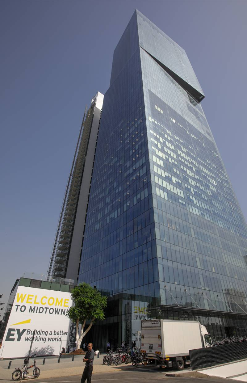 Completion Of New Ernst Amp Young Office In Tel Aviv Israel